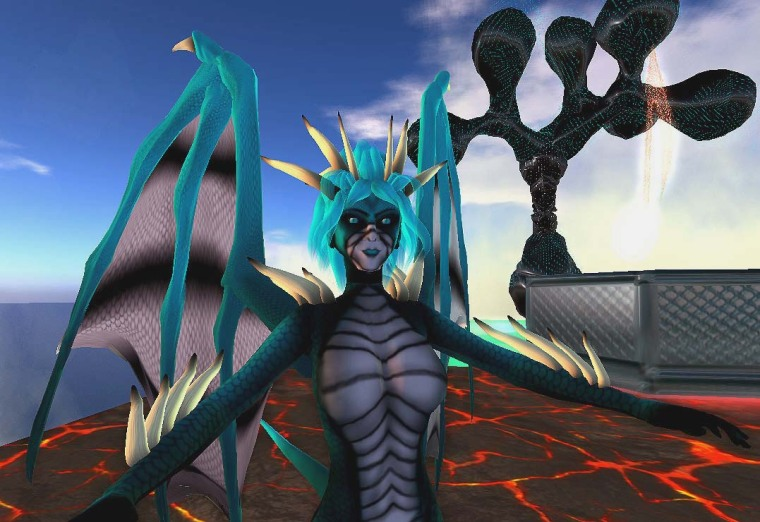 Draconite by Flea Bussy and Bettina Tizzy\'s installation