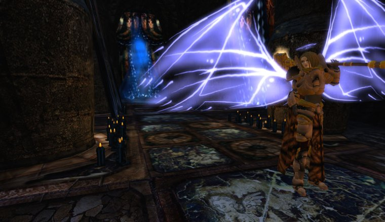 Sigil Knight in Templum ex Obscurum