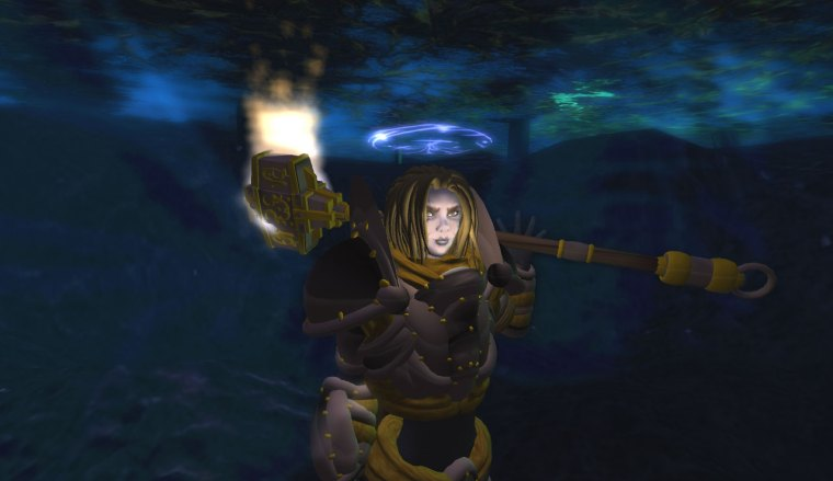Sigil Knight discovers the secret of breathing underwater