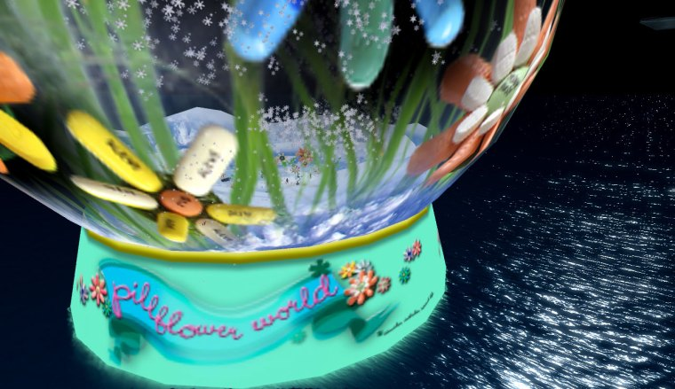 Pill Flower World by Nar Duell