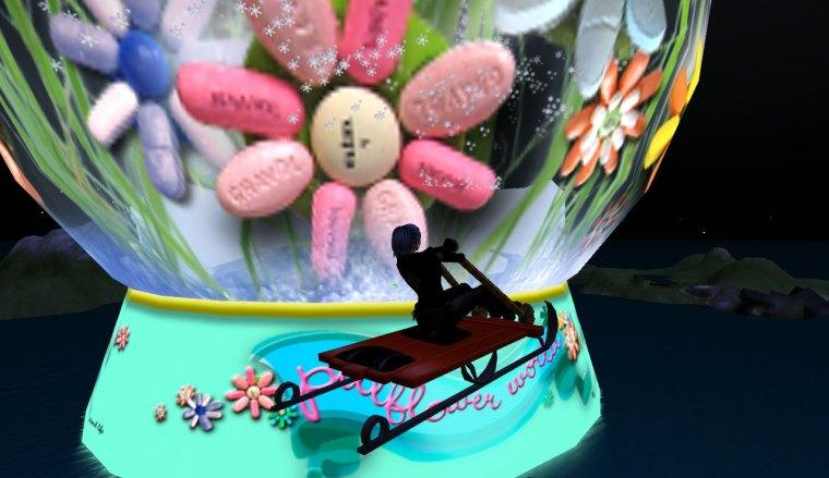 Pill Flower World sled trip