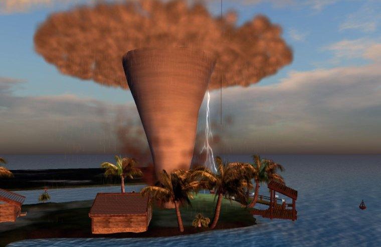 Tornado on Tornado Island