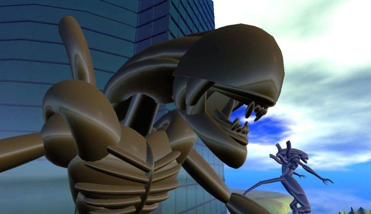 'Coke Supply's Alien Statue' created by Nebadon Izumi