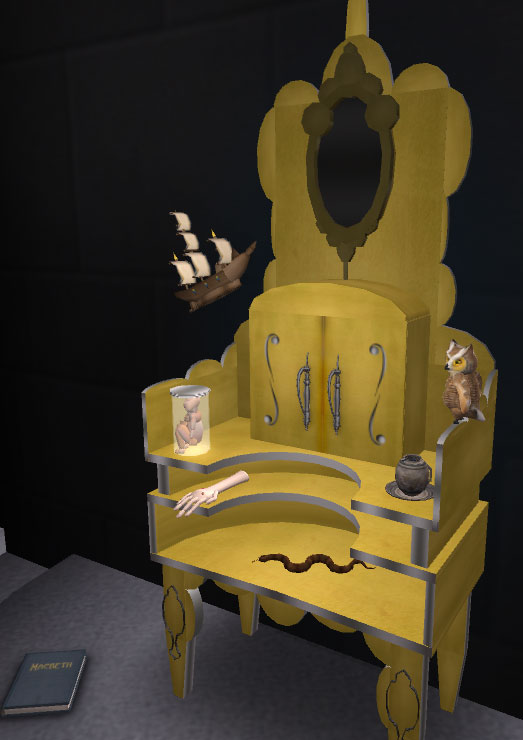 Curio cabinet - Mabeth Sim
