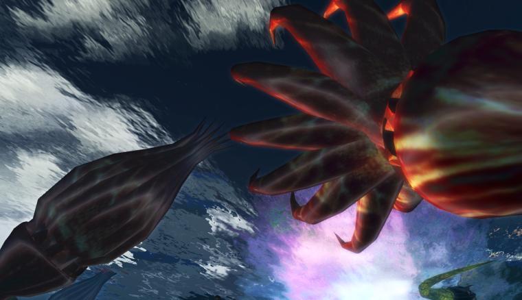 Glyph's underwater anemones
