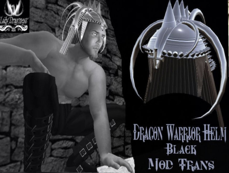 Dragon Warrior Helm available at the Lady Dragoness