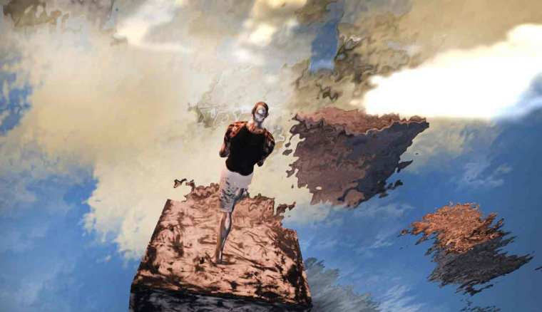 Kolor Fall entering reflections