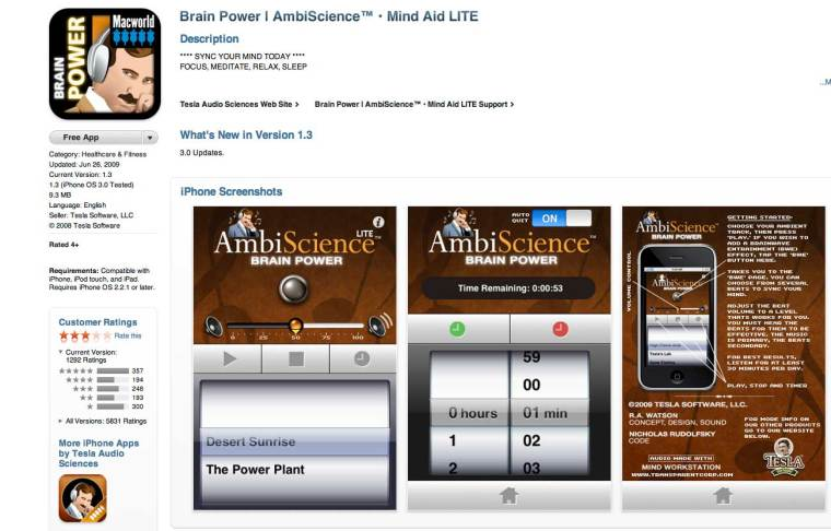 Brain-Power Lite by Ambi-Science