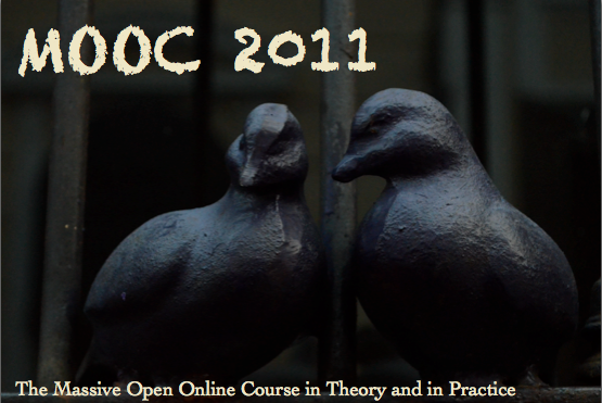 Screen shot of MOOC 2011 introduction