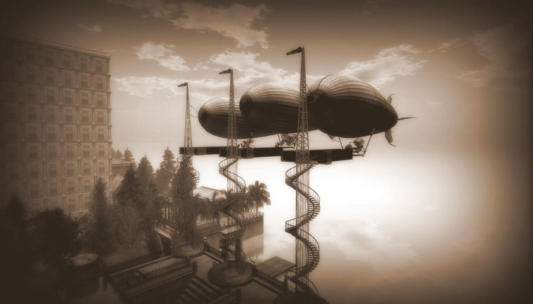 3 AerViator V5 Blimps created by Lexx Bondar_Foehammer in Second Life