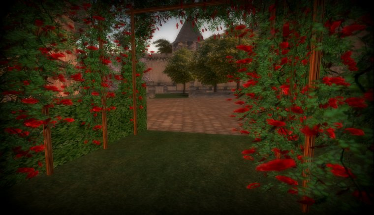 Chateau Medieval Garden
