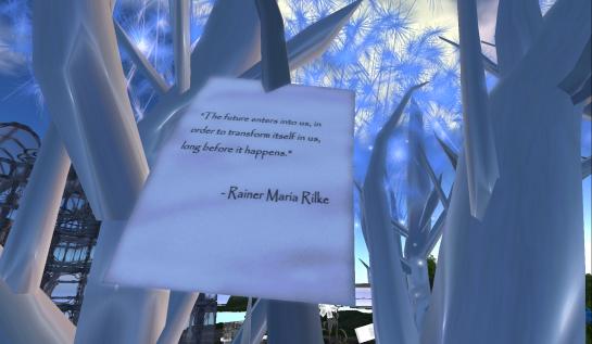 InWorldz SXSW Event: Rainer Maria Rilke tree