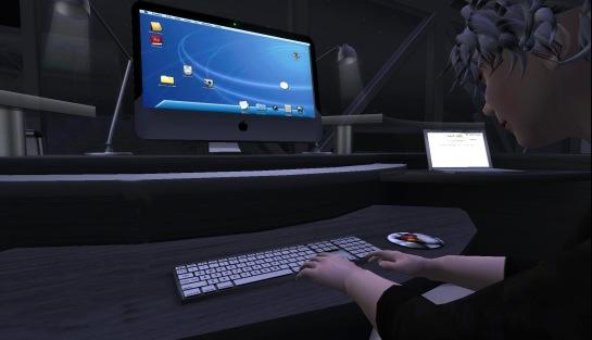 Working on Kunst Himmel's iMak 3.0 computer